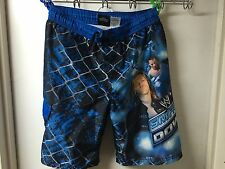 Kids LARGE (10/12) Authentic WWE Smack Down Board Shorts