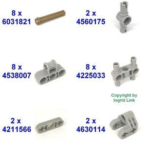 Lego Set 8x6031821 2x4560175 8x4538007 8x4225033 2x4211566 2x4630114 30-T.*10407