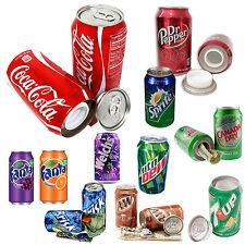 Soda Variety Diversion Safe Can Home Security Secret Hidden Storage Lot - 6 Pack