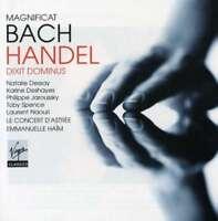 Emmanuelle Ha' M / Le Concert D`A - Handel:Dixit Dominus & Bach : Neuf CD