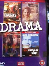 DRAMA DVD 4 Movies Drunks, Shadrach, The Big Brass Ring and Summer in The City