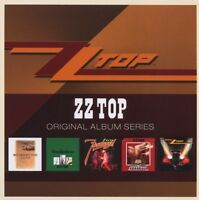"ZZ TOP ""ORIGINAL ALBUM SERIES"" 5 CD NEU"