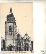 80 - cpa - ABBEVILLE - L'église Saint Gilles ( i 4019)