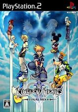 Used PS2 Kingdom Hearts II Final Mix+ Japan Import (Free Shipping)、