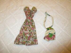 Barbie Flowered Dresses Clothes 1970s & 1980s