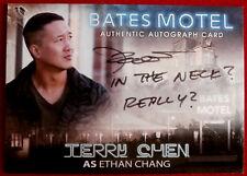 BATES MOTEL - TERRY CHEN as Ethan Chang - Autograph Card - Season One - ATC