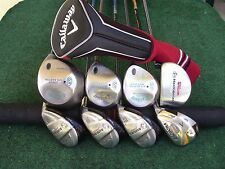 Ladies Callaway Tour Edge Hybrid Irons Driver Woods Complete Golf Club Set Women