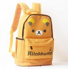 Cute For Rilakkuma San-X Kiiroitori Chick Student Travel Schoolbag Backpack Bag