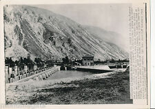 WWII 1944 Pescara Dam, Dive bombed by Allies, Italy 8 x 12 Wire Photo