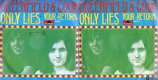 DISCO 45 GIRI  GREENFIELD & COOK - ONLY LIES // YOUR RETURN