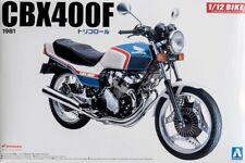 Honda CBX 400F Tricolor 1981 Bike Motorcycle Kit 1:12 Aoshima 31