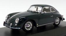 Maxichamps 1/43 Scale 940 064220 - 1959 Porsche 356A Coupe - Dark Green