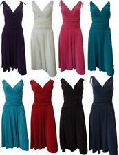 Polyester Clubwear Draped Dresses for Women