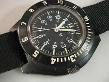 Classic MARATHON H3 Military Watch Issue June 2004  Nice Collection