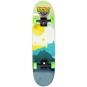 """Handboard Handskate Hand Skate / """"Mountains"""" Hand Skateboard für Hände Board 11"""""""