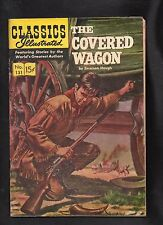Classics Illustrated #131 G Hrn143 (The Covered Wagon) Emerson Hough