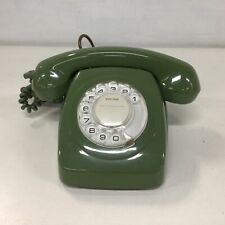 Vintage. Green Plastic Manual Dial Telephone. *Broken Parts Only* #922