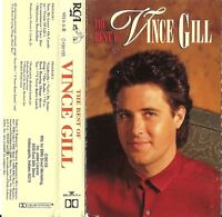 The Best of Vince Gill by Vince Gill (Cassette, Oct-1989, BMG) USED VG