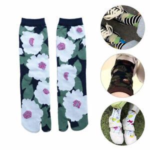 1Pair Sandal Socks Flip Flop Split Toe Tabi Socks Unisex Multicolor Two-Toed Hot
