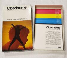 New listing Cibachrome Color Printing Filter Set