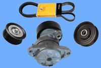 Accessory Drive Belt Kit Contitech Belt/Tensioner/Pulleys For Mercedes Benz