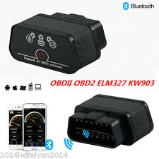 KW903 ODB2 II Car Diagnostic Scanner Code Reader ELM327 Bluetooth Android iPhone