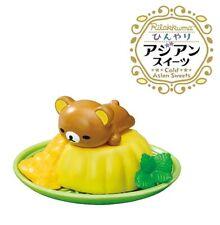 RE-MENT San-X Rilakkuma Hinyari Cold Asian Sweets Dessert Figure 8 Mango Pudding