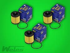 3 x SH452 Ölfilter OPEL ZAFIRA SIGNUM ASTRA G VECTRA B C 2,0 2,2 SAAB 9-3