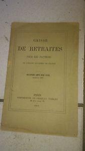 Caisse de retraite pour les pasteurs - compte rendu 1880 - Imp. Charles Noblet