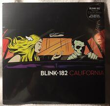 Blink 182 California SPLATTER VINYL NEW UNOPENED MINT.