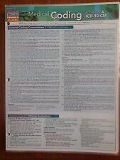 Barcharts Medical Coding IDC-9-CM & IDC-10-CM Quick Study Guide