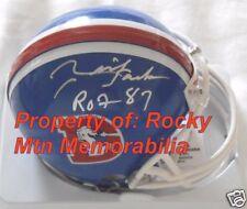 RICH JACKSON Signed Broncos D-Style Mini w/ ROF