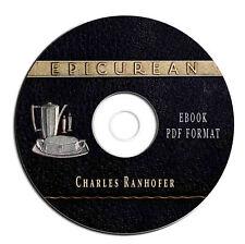 THE EPICUREAN-Charles Ranhofer-Vintage Victorian Cookbook-Recipes-CD eBook PDF