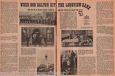 Longview TX Dalton Gang Robbed  Bank-Abey*,Allison,Bass*,Butts*,Clark*,Clemmons*