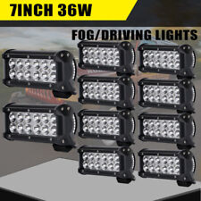10x High Power 12-LED 36W Spot Beam Work Light Lamp For SUV Truck Tractor Boat
