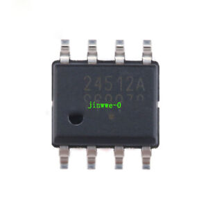 10pcs CAT24C512WI-GT3 SOIC-8 EEPROM I2C interface 512Kb Memory chip Chipsets