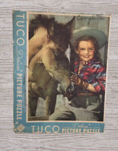 """Vintage Tuco DELUXE Picture Puzzle """"Prince And Princesses"""" #A35"""