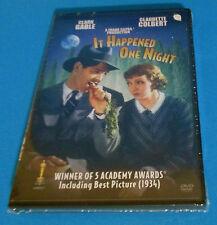 It Happened One Night DVD - NEW SEALED- Clark Gable, Claudette Colbert FREE SHIP