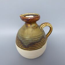 H.G. Heinloth Ingolstadt Keramik 80er 90er Jahre Kanne Vase 14cm (N)