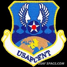 USAF CENTRAL COMMAND - Shaw AFB, SC - AIR FORCE ORIGINAL VEL PATCH - MINT
