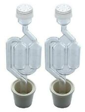 Brewcraft Q3-MF2B-UE2A 3ct Set of 3 Cylinder Airlock The Vintage Shop - 3 Piece Airlock with #6.5 Stopper