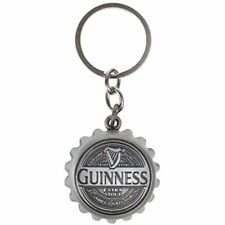 GUINNESS BLONDE AMERICAN LAGER Beer Bottle OPENER IRELAND Keychain Key Ring