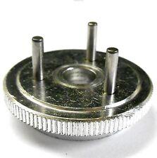 85735 alliage argent Flywheel 3 Broches HSP 1/8 ECHELLE