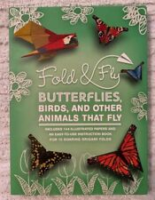 Fold & Fly Butterflies Birds Other Animals That Fly 144 Illustrated Papers Art