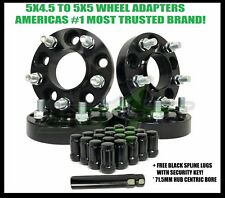 5X4.5 TO 5X5 WHEEL ADAPTERS HUB CENTRIC 3"
