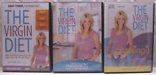 DVD's & Audio Set THE VIRGIN DIET CHALLENGE + PROGRAM + KITCHEN MAKEOVER JJ