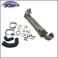 Stainless Upper EGR Cooler For Ford Super Duty Powerstroke Diesel 6.4L