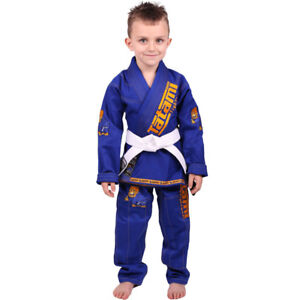 Tatami Fightwear Meerkatsu Kids Animal BJJ Gi - Royal Blue