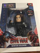 Marvel Die Cast Captain America Civil War Winter Soldier M49 Figure NEW