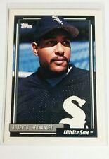 1992 Topps Roberto Hernandez ROOKIE # 667 White Sox MINT RC